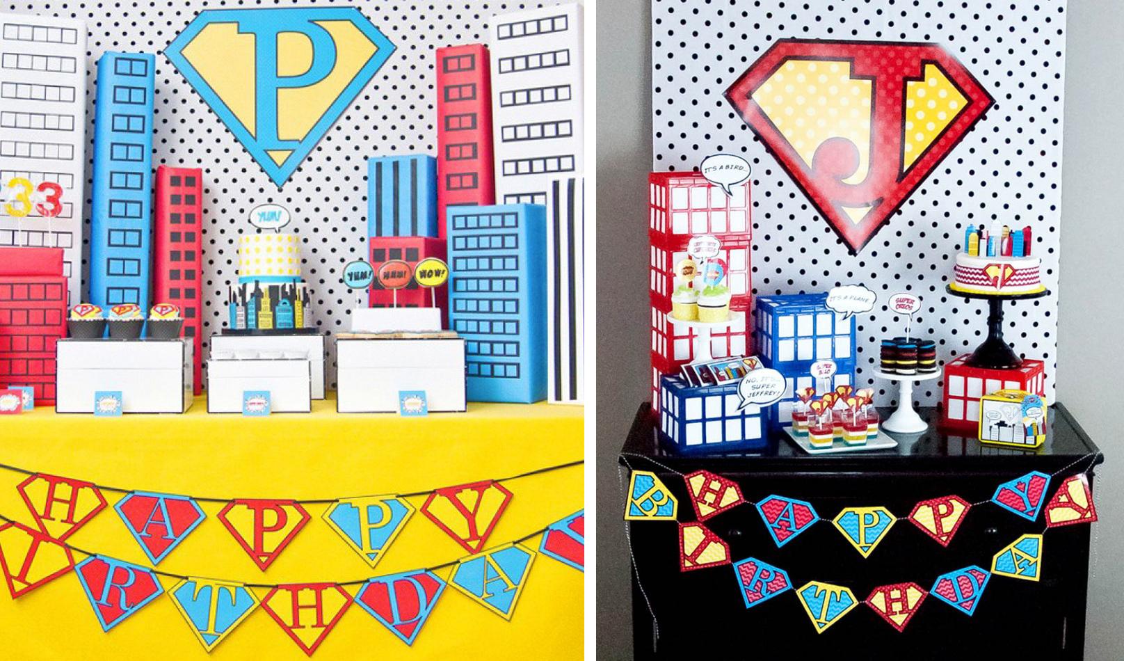 boy birthday parties round