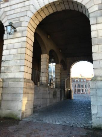 Dublin Castle, Entrance
