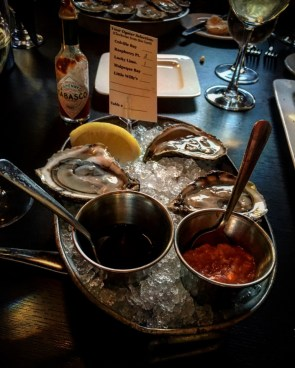 Oysters at Claddagh Oyster House