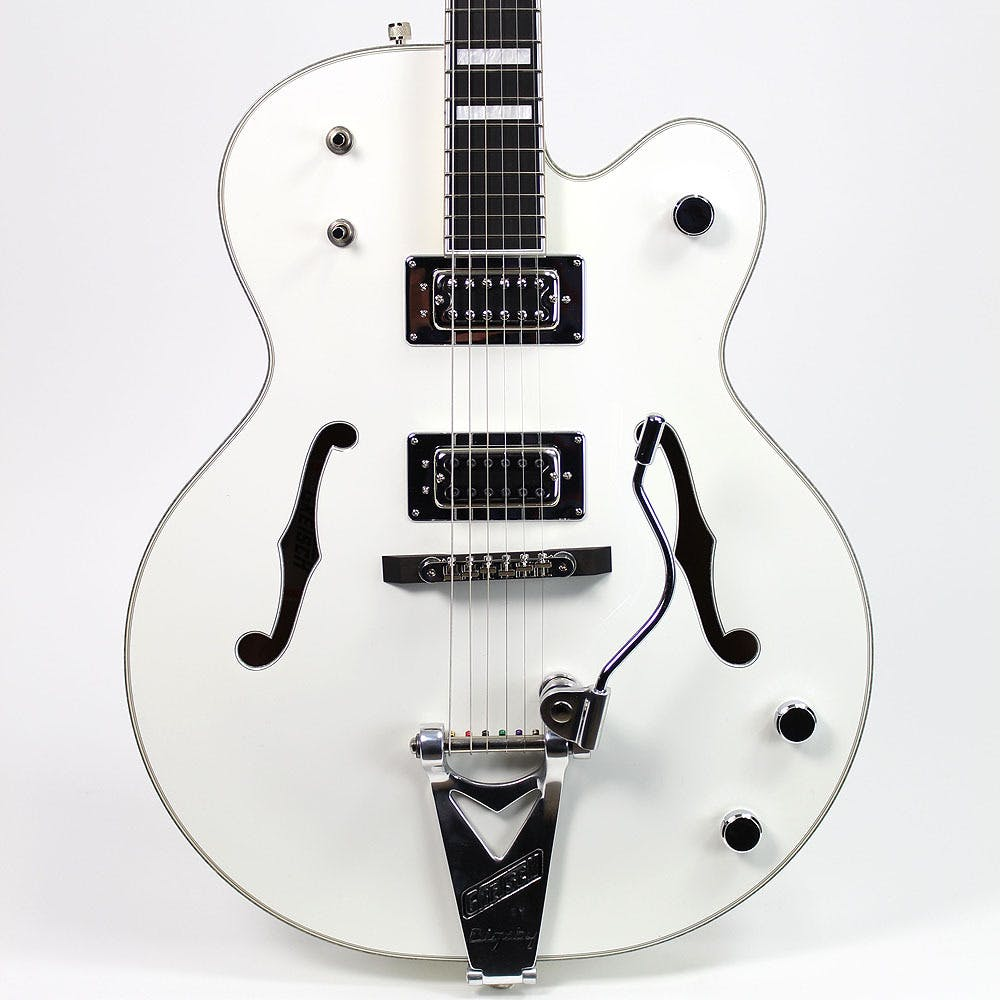 medium resolution of gretsch g7593t billy duffy signature falcon with bigsby in white andertons music co