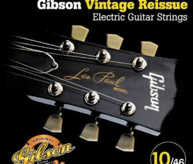 Gibson Vintage Reissue Electric Strings 10 46