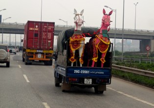 On the road to Ha Long.
