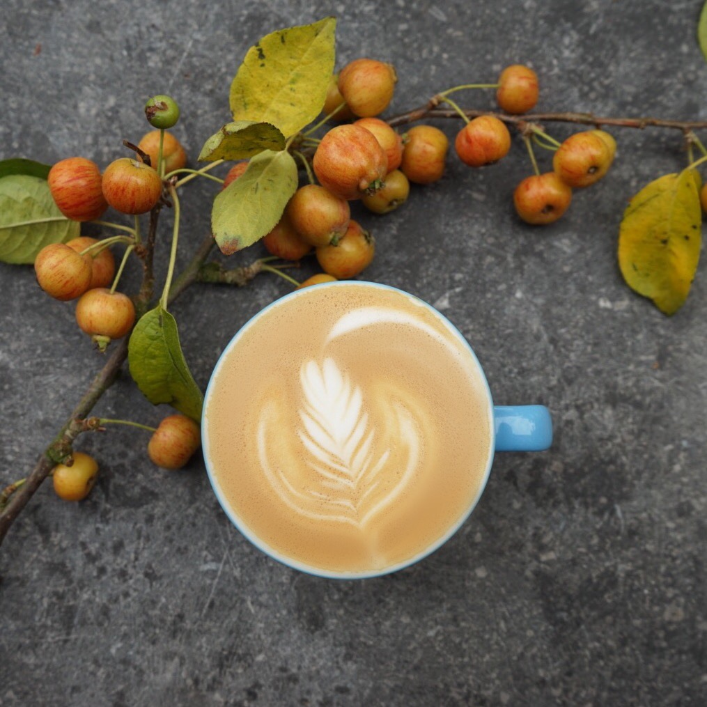 The perfect Autumn blend to help you along your Saturday