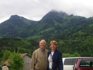 Mom and Dad in Switzerland