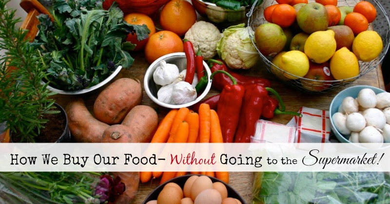 How We Buy Our Food Without Going to the Supermarket