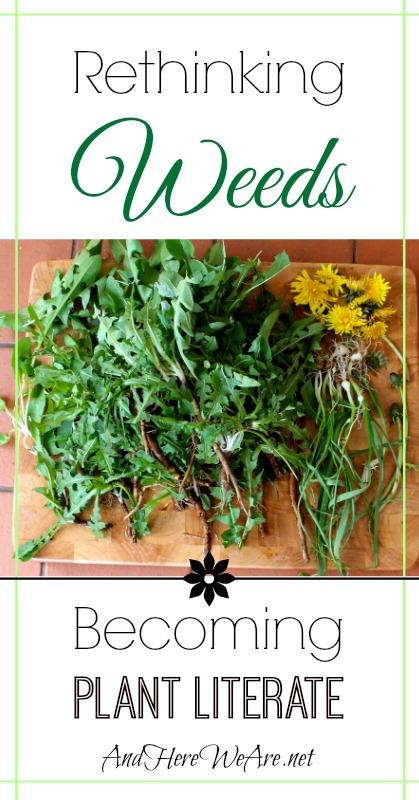 Rethinking Weeds