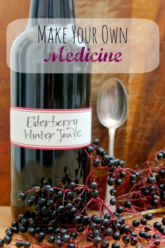 Elderberry Winter Tonic 3