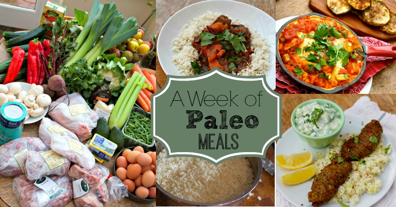 A Week of Paleo Meals