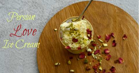Persian Love Ice Cream