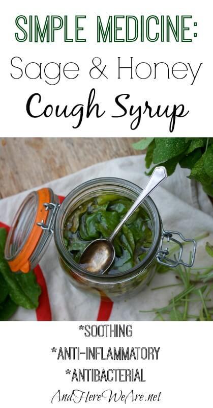Simple Medicine Sage & Honey Cough Syrup