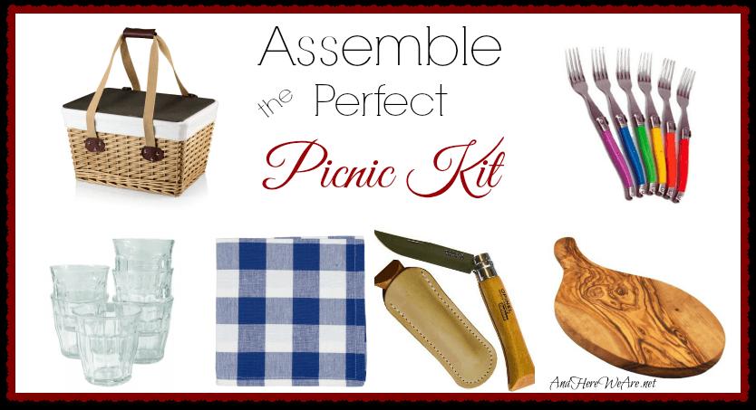Assemble the Perfect Picnic Kit!