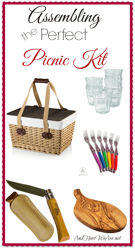 Assembling the Perfect Picnic Kit  And Here We Are...