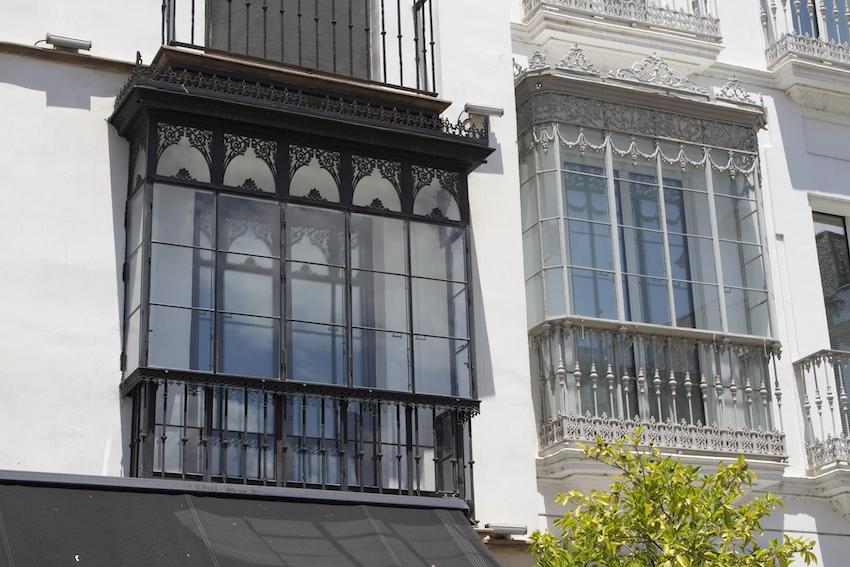 Fancy windows in Sevilla