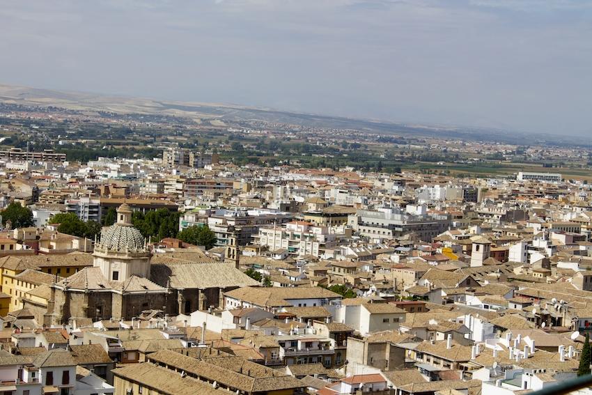 View of Granada, Spain