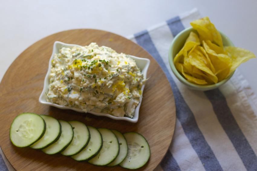 Egg Salad with Yogurt, Dill & Lemon
