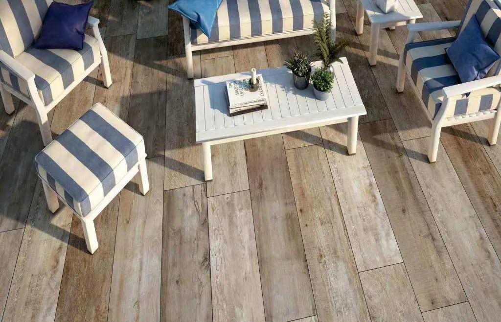 Pavimento per esterni effetto legno daylight nn u e andhome by deprà