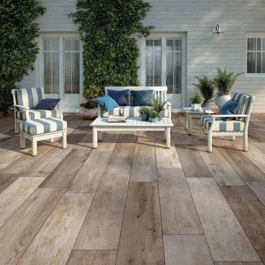 Pavimento da esterno effetto legno - Gres porcellanato effetto legno esterno ...