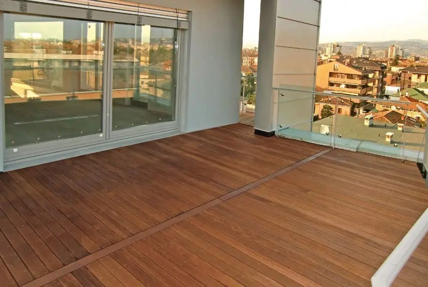 Pavimento per esterno decking Angelim Amargoso