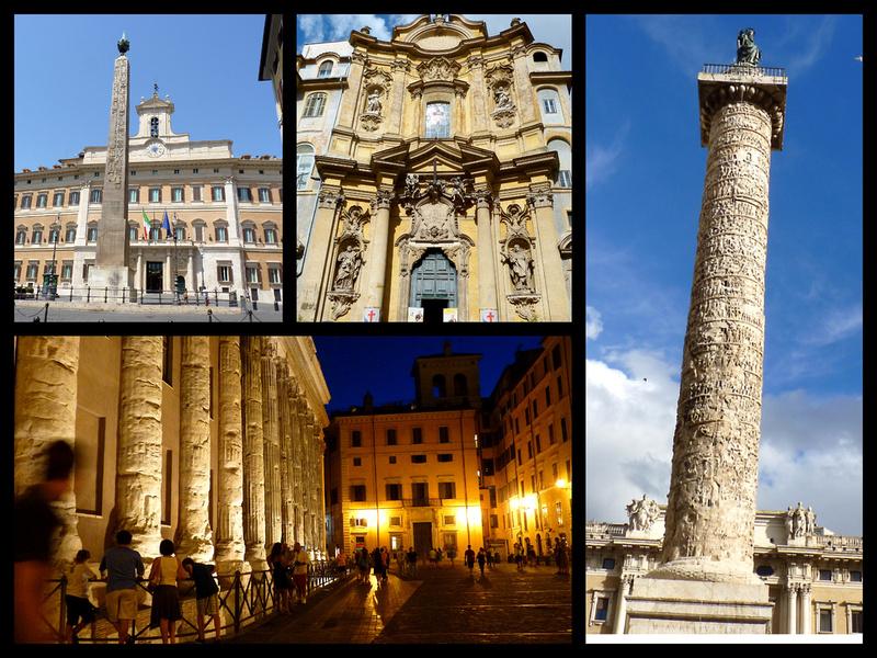 Column Marcus Aurelius Th Top