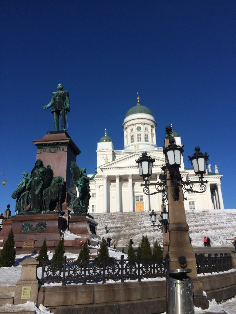 Helsinki Cathedral and Senate Square, Finland
