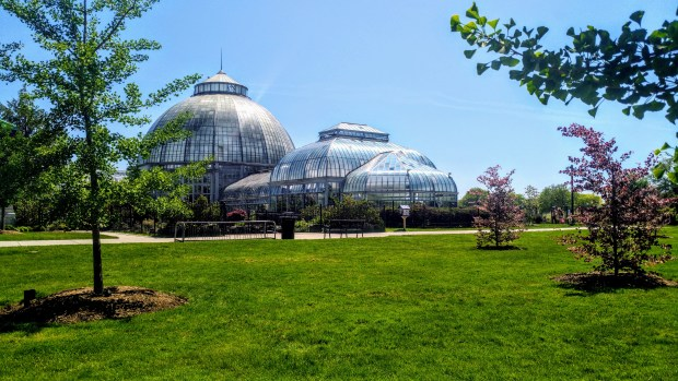 Anna Scripps Whitcomb Conservatory on Belle Isle, Detroit, Michigan
