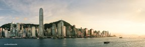 Hong Kong Skyline from Tsim Sha Tsui