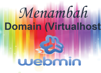 Cara Menambahkan Domain di Webmin