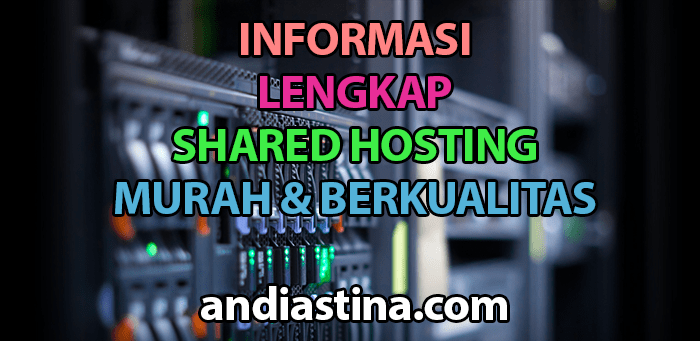 Informasi Shared Hosting