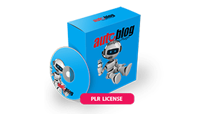 auto blog plr license