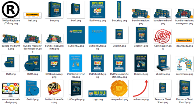 bisnis toko online sales graphic