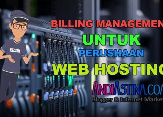 Billing Management Untuk Mengatur Pembayaran Web Hosting