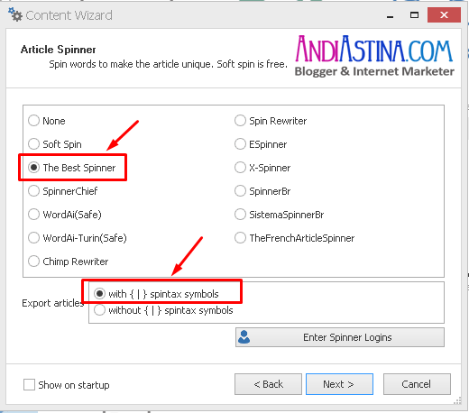 Review Cara Menggunakan SEO Content Machine Content Wizard The Best Spinner - andiastina.com