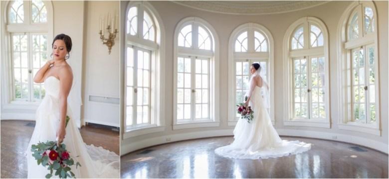 Meghan S Bridal Session Tulsa Garden Center Wedding