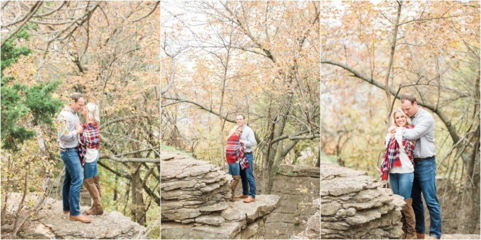 Tulsa engagement photography