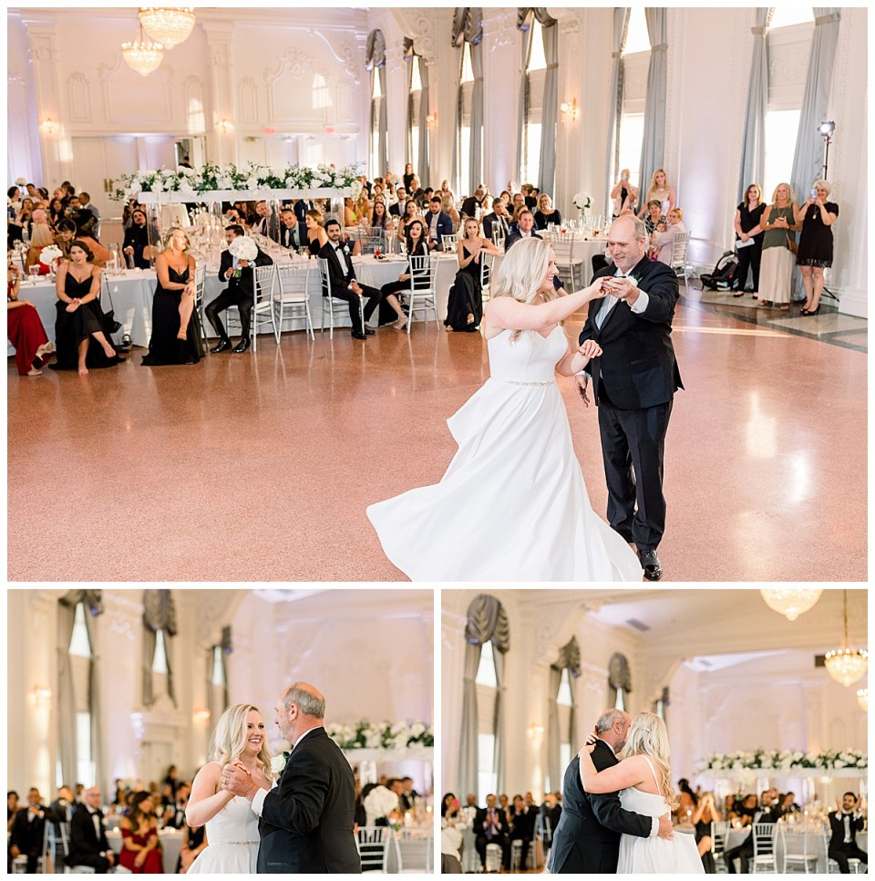 Bride's dance with father at Tulsa wedding reception| The Mayo Hotel| Tulsa wedding photographer| Andi Bravo Photography