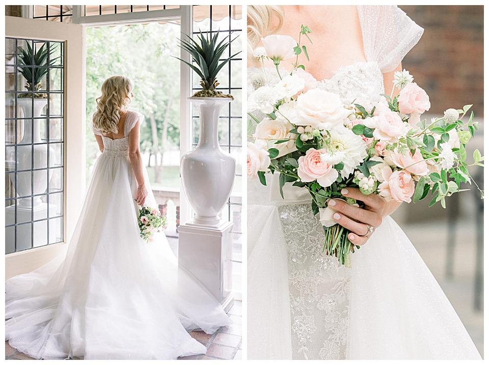 Effortlessly timeless and classic images of bride.