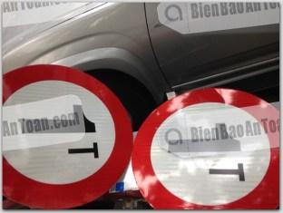 biển báo cấm xe tải 1 tấn