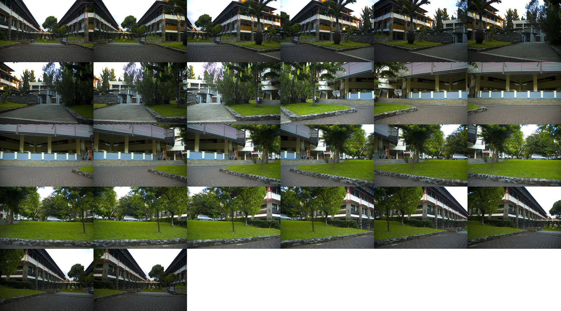 rangkaian image hasil rotation method