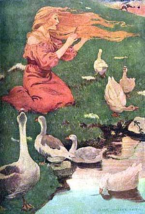 Ilustraţie de Jessie Willcox Smith, New York, 1911
