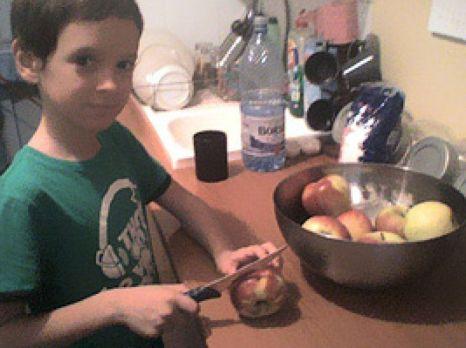 Mateatouille (se preface că) taie merele