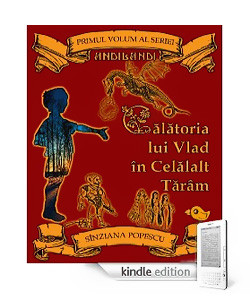 Coperta primului volum al seriei Andilandi disponibil pe Kindle
