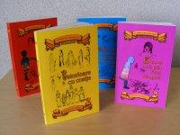 Coperta volumului de poveşti din Tărâmul lui Andilandi, Istorioare cu cosiţe