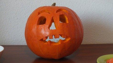 Say cheese, pumpkin!
