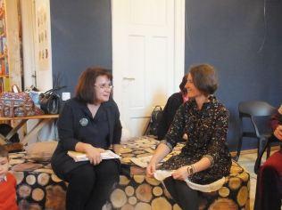 Depănând povești cu Iulia Iordan