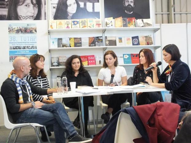 Cu Cristian Fulas, Andreea Rasuceanu, Arzu Oren, Ayşe Övür İmza Günü și Şeila Çelik.