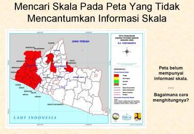 Peta garis pangkal wilayah negara kepulauan indonesia skala 1: Menghitung Skala Peta 3 Guru Geografi Man 1 Gunungkidul Diy