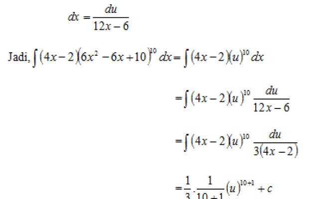 Rangkuman contoh soal dan pembahasan integral parsial sma kelas 12. Contoh Soal Integral Parsial Dan Jawabannya Belajar