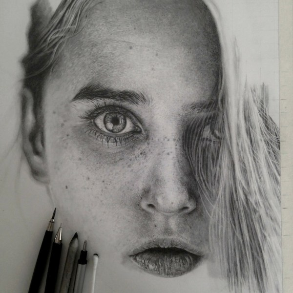 Hyper-realistic Pencil Drawings &inspire