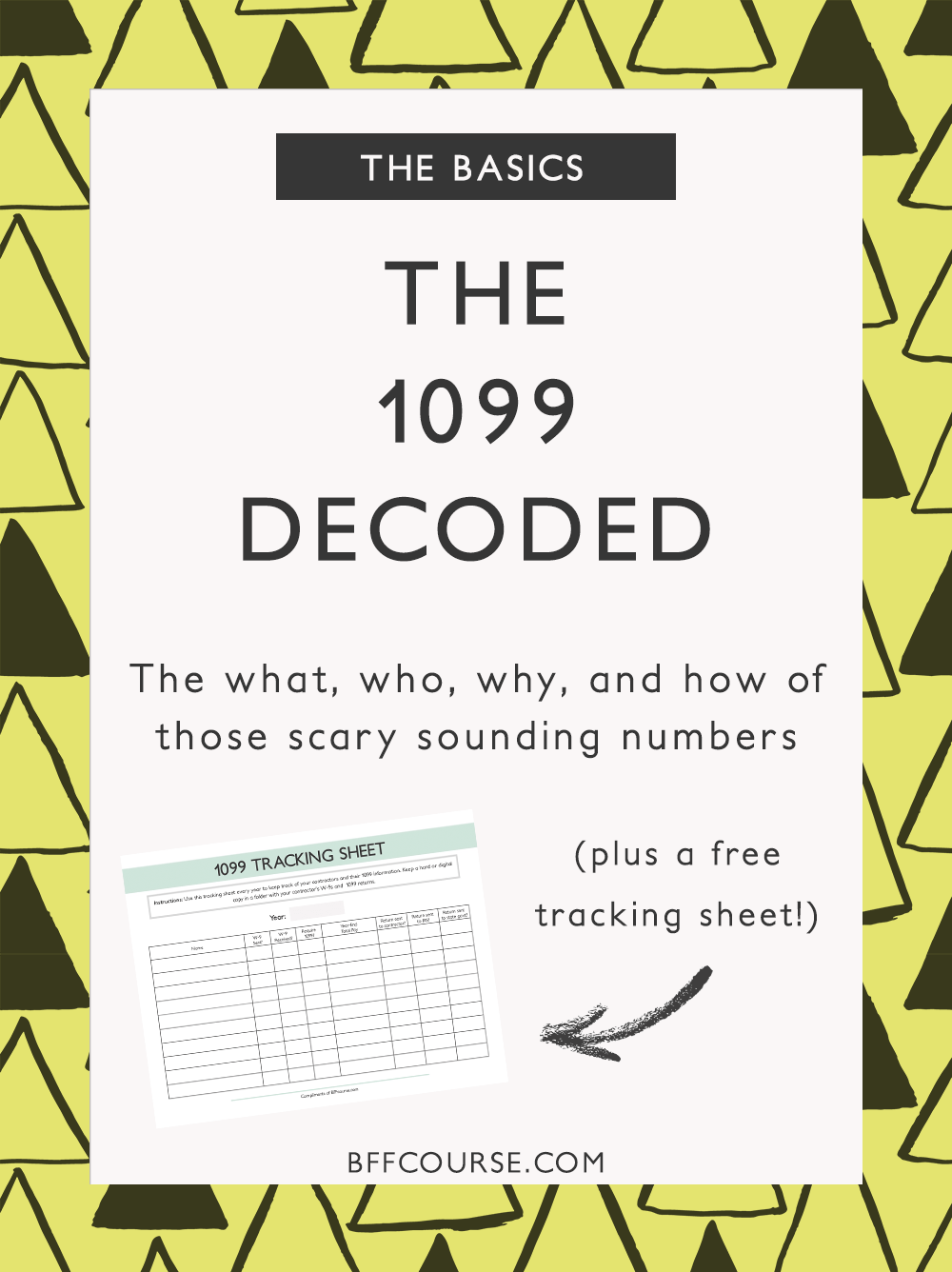 The 1099 decoded the what who why how of those scary sounding 1099 tax return contractors small business freelancer falaconquin