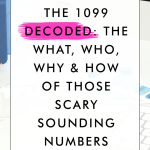 The 1099 Decoded: The What, Who, Why & How of Those Scary Sounding Numbers